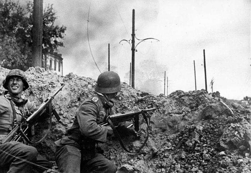 Из донесений немецких солдат о боях в Сталинграде