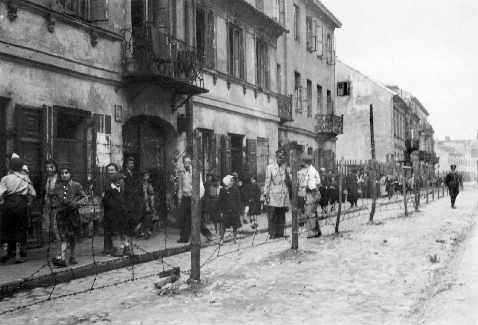 первая польское гетто фото это
