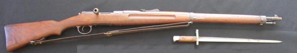 винтовка Манлихера Шёнауэра и штык обр. 1903 14 года 01
