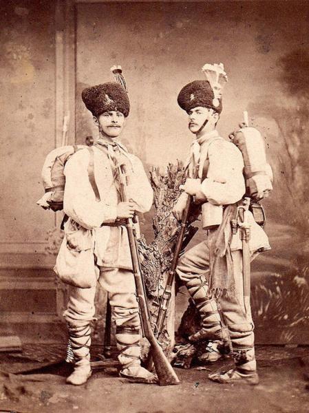 солдаты периода в русско турецкой войны 1877 1878 годов 01