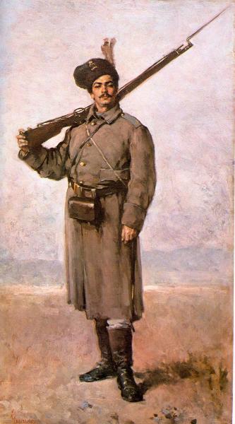солдат периода в русско турецкой войны 1877 1878 годов 03