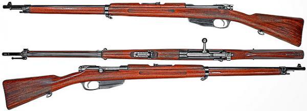 винтовка Манлихера обр. 1893 года 01