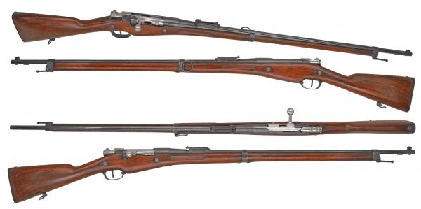 Бертье обр. 1907 15 года (Le fusil Mle 1907 M 15) 01