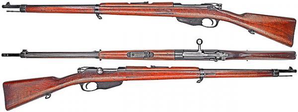 винтовка Манлихера обр. 1892 года 01