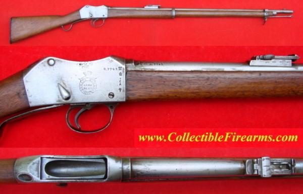 винтовка Пибоди Мартини Генри обр. 1879 года производства OEWG Steyr 01