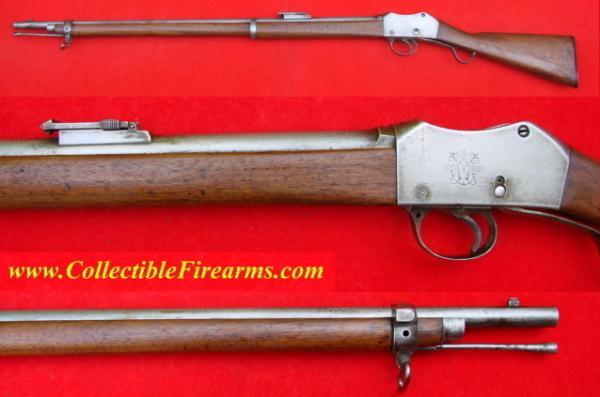 винтовка Пибоди Мартини Генри обр. 1879 года производства OEWG Steyr 02