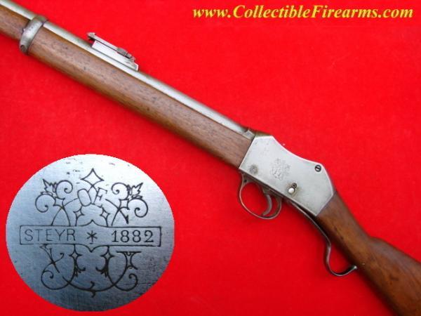 винтовка Пибоди Мартини Генри обр. 1879 года производства OEWG Steyr 05