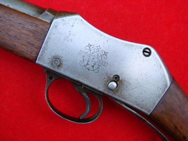 винтовка Пибоди Мартини Генри обр. 1879 года производства OEWG Steyr 11