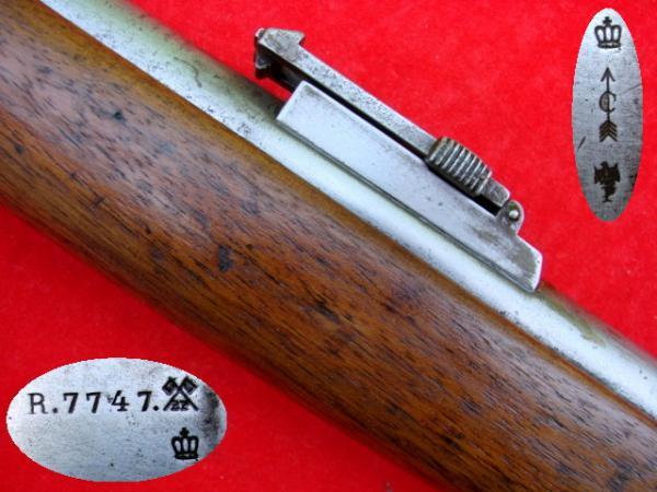 винтовка Пибоди Мартини Генри обр. 1879 года производства OEWG Steyr 10