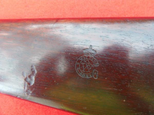 винтовка Пибоди Мартини Генри обр. 1879 года производства Waffen  und Gussstahl Fabrik, Witten an der Ruhr 13