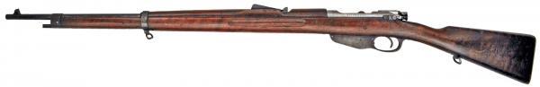 6,5 мм румынская винтовка системы Манлихера обр. 1893 года (в качестве трофеев доставшаяся болгарам) 01