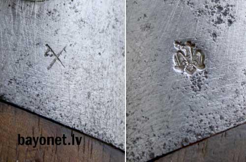 нож румынский обр. 1893 года к винтовке Манлихера обр. 1893 года 15