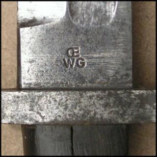 нож румынский обр. 1893 года к винтовке Манлихера обр. 1893 года 35