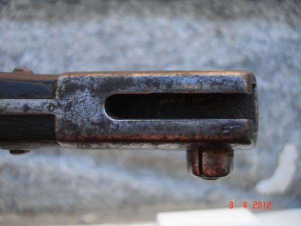 нож румынский обр. 1893 года к винтовке Манлихера обр. 1893 года 25