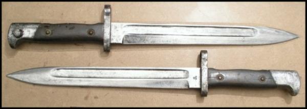 нож румынский обр. 1893 года к винтовке Манлихера обр. 1893 года 31