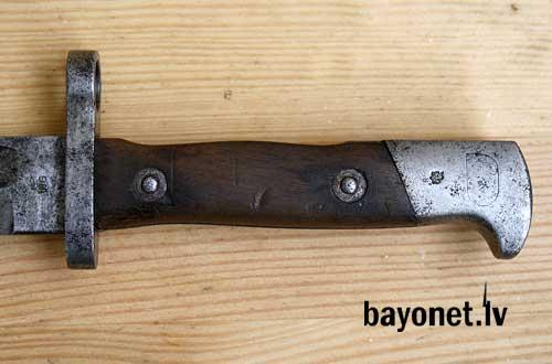 нож румынский обр. 1893 года к винтовке Манлихера обр. 1893 года 12