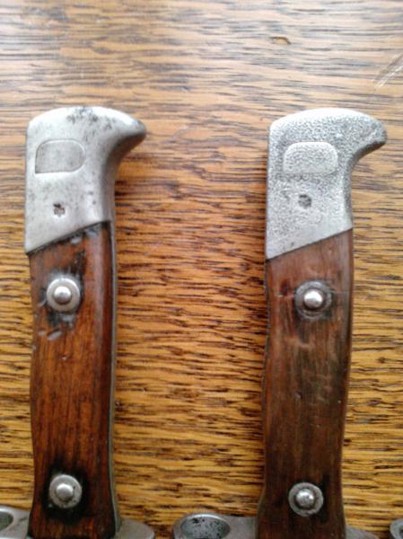 ножи румынские обр. 1893 года к винтовке Манлихера обр. 1893 года 06