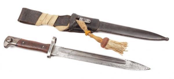 нож румынский обр. 1893 года к винтовке Манлихера обр. 1893 года 51