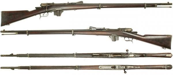 винтовка Веттерли Витали обр. 1870 87 года 02