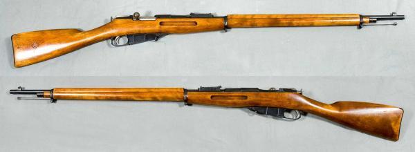 7,62 мм русская пехотная винтовка обр. 1891 года (винтовка Мосина) без штыка 01