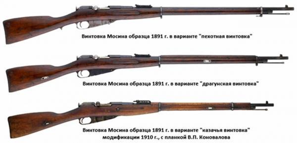 винтовки Мосина обр. 1891 года 01