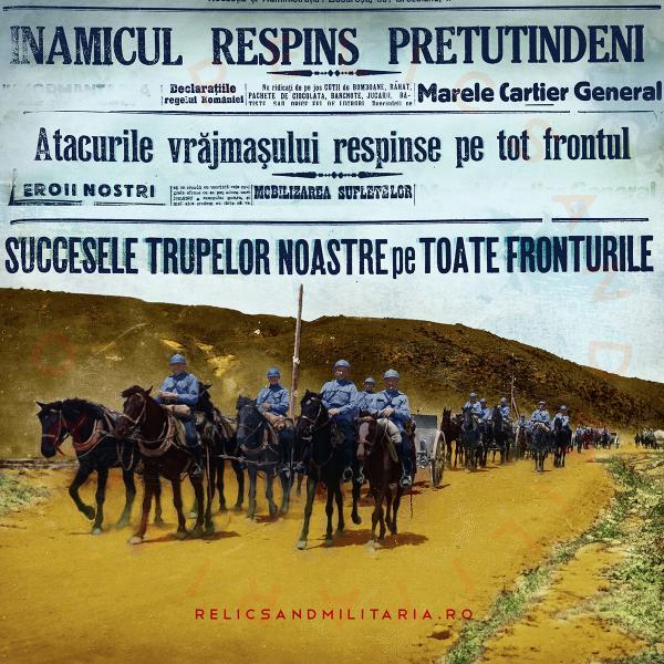 03 Romania enters World War One