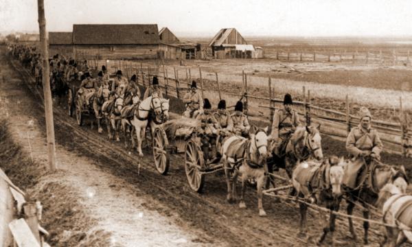 4 го румынского гаубичного артиллерийского полка, 1916 год