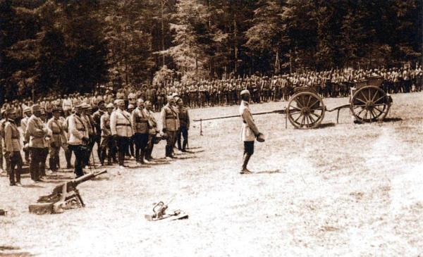 romanian troops at marasesti 1917 world war one ww1 romanian people army