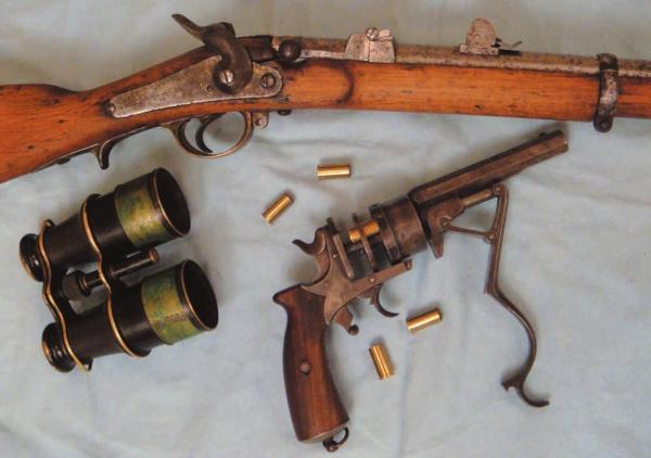 6 лн русская флотская винтовка Баранова обр. 1869 года 05