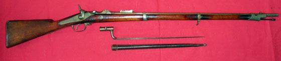 6 лн русская флотская винтовка Баранова обр. 1869 года и игольчатый штык 01
