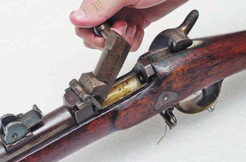 6 лн русская флотская винтовка Баранова обр. 1869 года 04