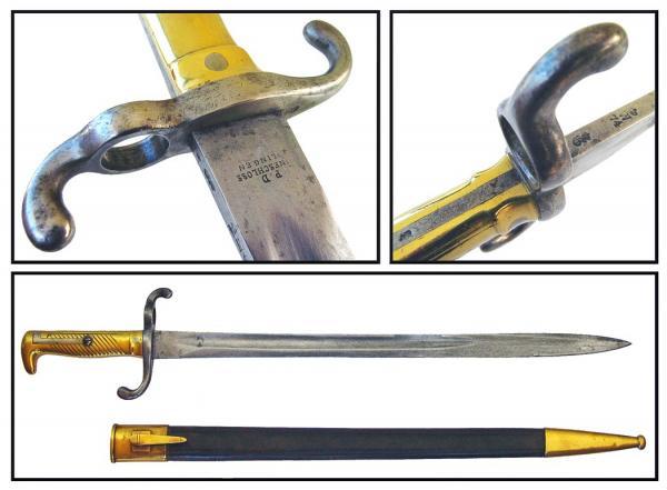 Preuß. Infanterie Seitengewehr M 1871 (03)