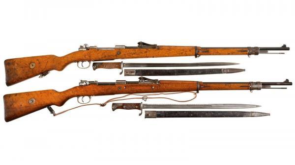 винтовки Маузер 98 и штыки обр. 1898 года 02
