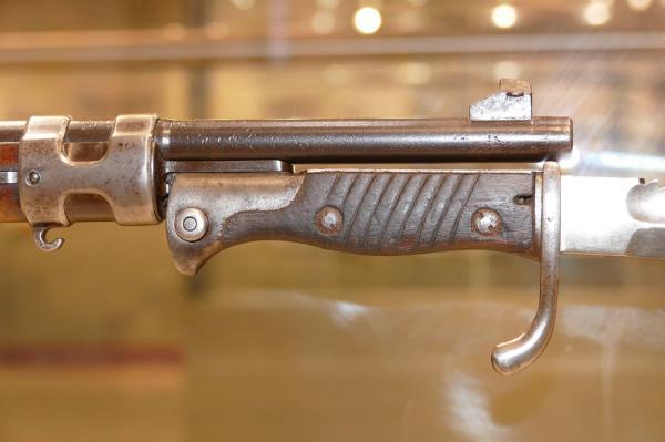 обр. 1898 1905 года, примкнутый к винтовке Gewerh 98 (02)