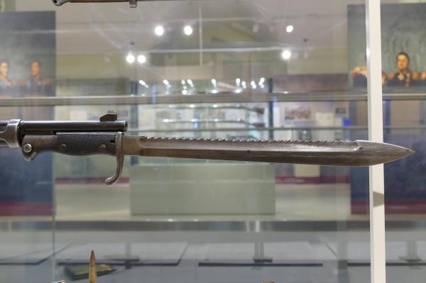 обр. 1898 1905 года, примкнутый к винтовке Gewerh 98 (01)