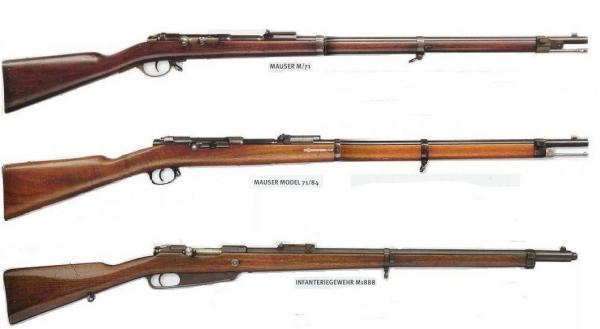 винтовки 01