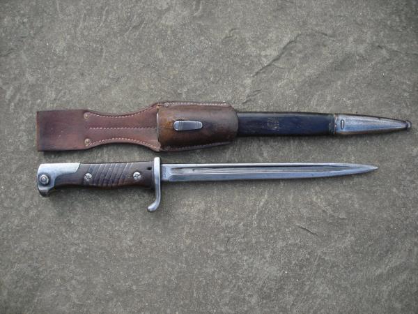 Shortened S98nA Bayonet from the 2nd Sailors Depot Division (01)
