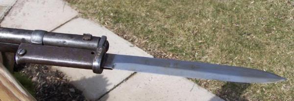 Gewehr 1888 со штыком