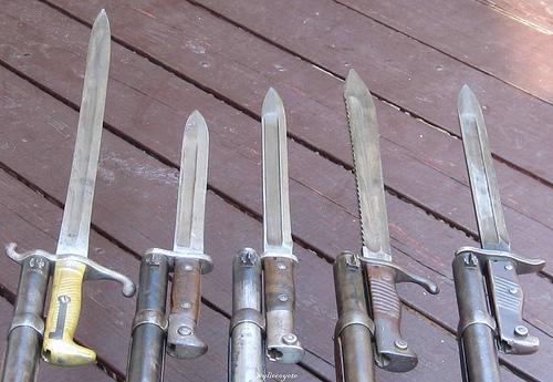 германские штыки к винтовке Gewehr 1888 (01)