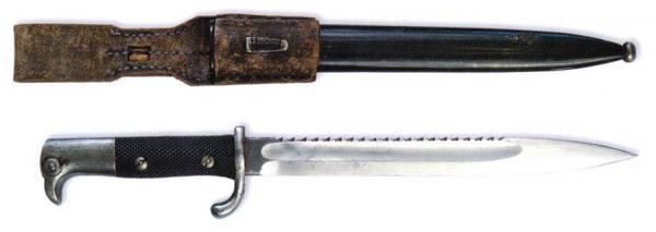 немецкий короткий образца 1898 г. к винтовке Маузер Gewehr 98 (Германия) 01