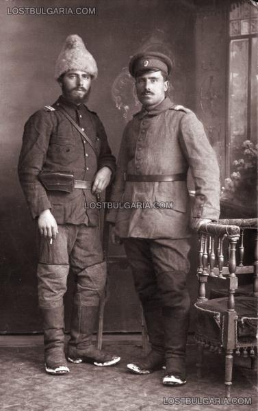 отпуск от фронта, 1917 година