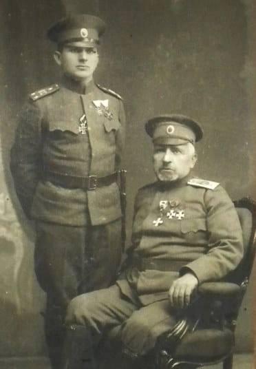 и син на фронта през Първата световна война