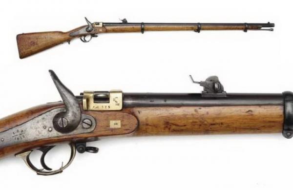 6 лн русская винтовка Крнка обр. 1869 года 02