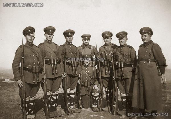 единица със своя командир   граничари, 30 те години на ХХ век