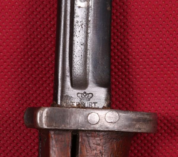 югославский, переделочный из немецкого штыка обр. 1898 года (М24Б) 04