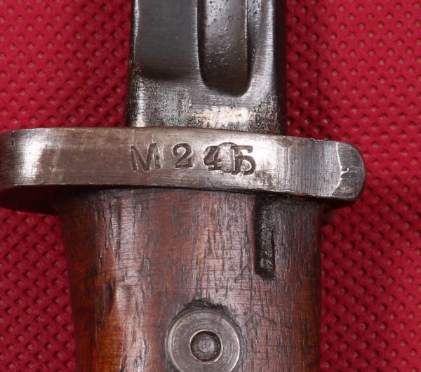 югославский, переделочный из немецкого штыка обр. 1898 года (М24Б) 05