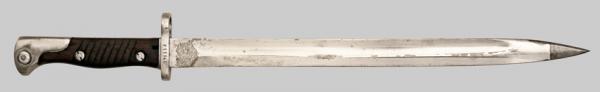 югославский М24Б, переделанный из немецкого штыка SG 98 05 01