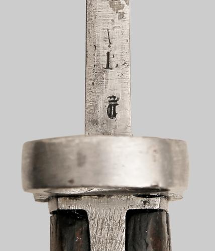 югославский М24Б, переделанный из немецкого штыка SG 98 05 05