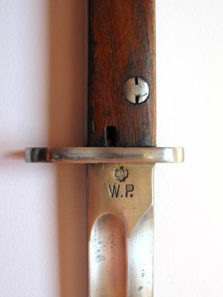 11 Польский штык обр. 1928 года (с защитной планкой на обухе рукояти) 04
