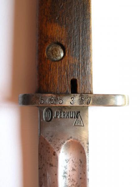 штык обр. 1928 года (без защитной планкой на обухе рукояти) 02